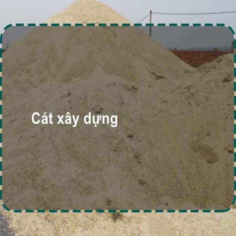 Giá cát xây dựng tại công trình