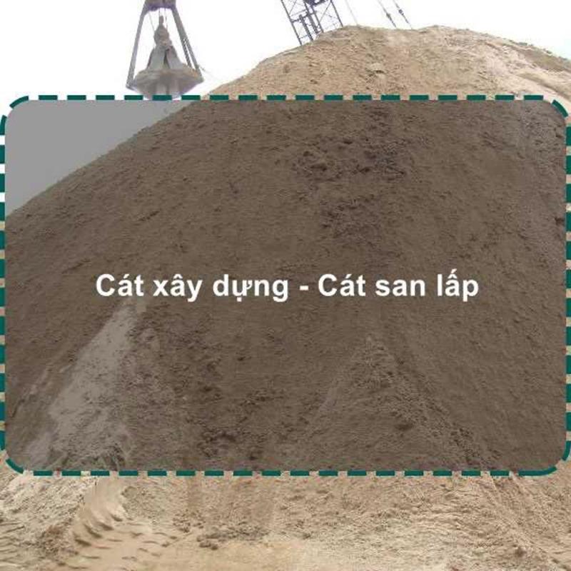 Giá cát san lấp tại công trình